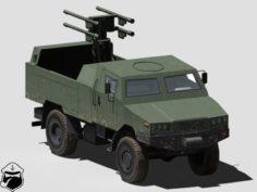 Zubr P Poprad launcher 3D Model