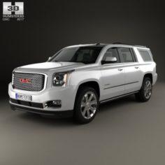 GMC Yukon XL Denali 2014 3D Model