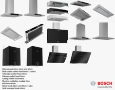 Bosch extractor collection 3D model 3D Model