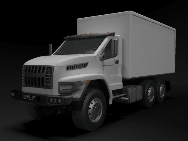 Ural Next refrigerator 3D Model