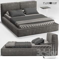 FLEXTEAM SLIM ONE bed                                      3D Model