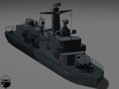 Type 660 Orkan 3D Model