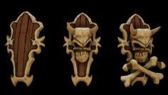 Bone Shield kit 3D Model