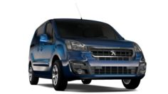 Peugeot Partner Van L1 2017 3D Model