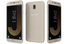 Samsung Galaxy J7 2017 Gold 3D Model