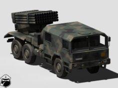 WR-40 Langusta 3D Model