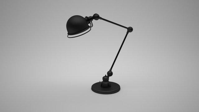Jielde Bureau Lamp 3d Model