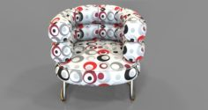Circle Chair 3D Model