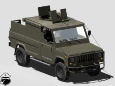 Honker Skorpion-3 3D Model