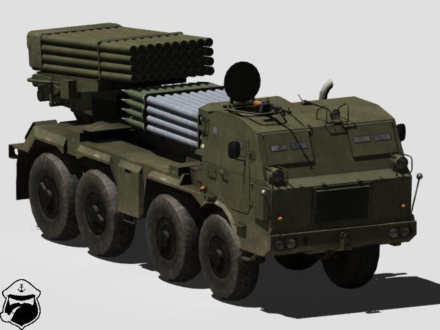 RM-70 multiple rocket launcher 3D Model - 3DHunt co