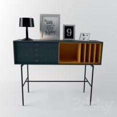 Treku Aura S8 High Sideboard                                      Free 3D Model
