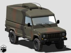 ZWD-3 Automated command vehicle 3D Model