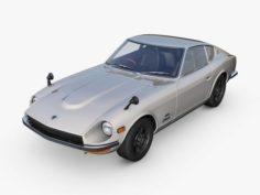 Nissan Fairlady 240Z 3D Model