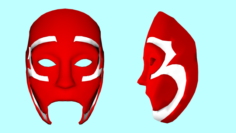 Mask Johnny 3 Tears from the album Five 5 2017 Hollywood Undead 3D Model