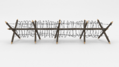 Barb Wire Obstacle 11 3D Model