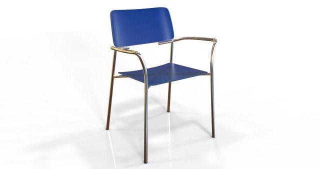 Lineup Chair 3D Model