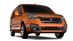 Peugeot Partner Van L2 2017 3D Model