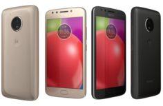 Motorola Moto E4 All Colors 3D Model