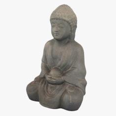 Buddha 001 3D Model
