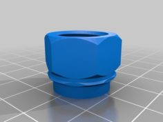 """Colgate """"Snap on tub to screw on travel"""" toothpaste transfer connector 3D Print Model"""
