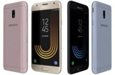 Samsung Galaxy J3 2017 All Colors 3D Model