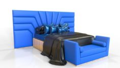 Elegance Bedroom 3D Model