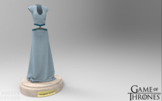 Game of Thrones Margaery Tyrell Clothes 3D Model