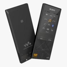 Sony Walkman NWZ A15 Portable MP3 Music Player Black 3D Model