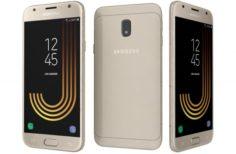 Samsung Galaxy J3 2017 Gold 3D Model