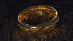 The lord of the rings – Ring of omnipotence 3D Model