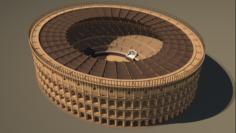 Roman Colosseum Reconstruction 3D Model