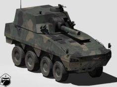 KTO Rosomak-RAK 3D Model