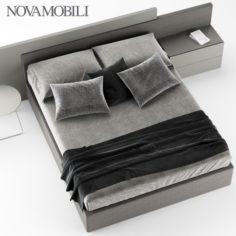 NOVAMOBILI TIME BED 3D Model