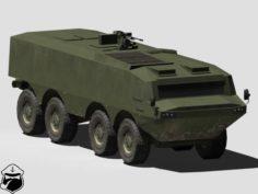 Hipopotam APC 3D Model