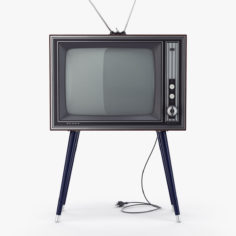 Retro TV Sharp IER-C7 3D Model