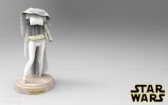 Star Wars Padm Amidala Clothes 3D Model
