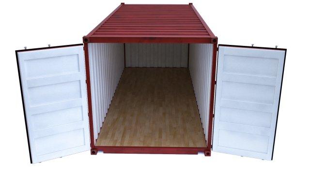 Container cargo 3D Model