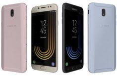 Samsung Galaxy J7 2017 All Colors 3D Model