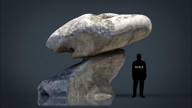 ROCK 24 3D Model
