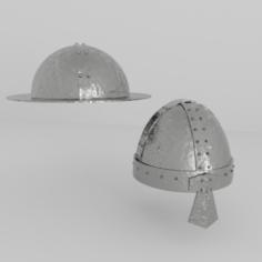 Helmet Medieval 3 3D Model