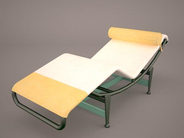 Le Corbusier chair 3D Model
