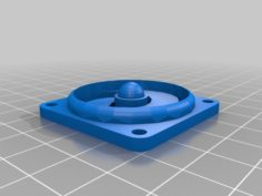 40mm fan cover for anet a8  3D Print Model