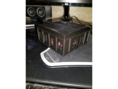 Table Top dice Box Lid by hacxx101 modified 3D Print Model