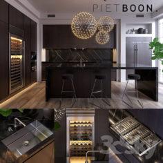 Kitchen Piet Boon SIGNATURE 2 (vray GGX, corona PBR)                                      3D Model