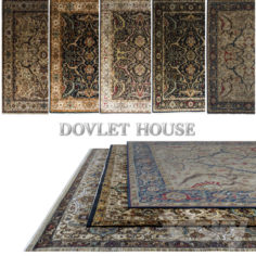 Carpets DOVLET HOUSE 5 pieces (part 42)                                      Free 3D Model