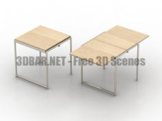 JEAN ClassiCon Tables 3D Collection