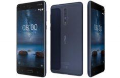 Nokia 8 Tempered Blue 3D Model