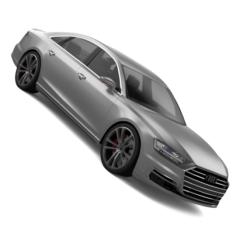Audi A8 2019 3D Model