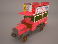 Bus Omni Old 3D Model