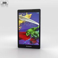 Lenovo Tab 2 A8 Midnight Blue 3D Model